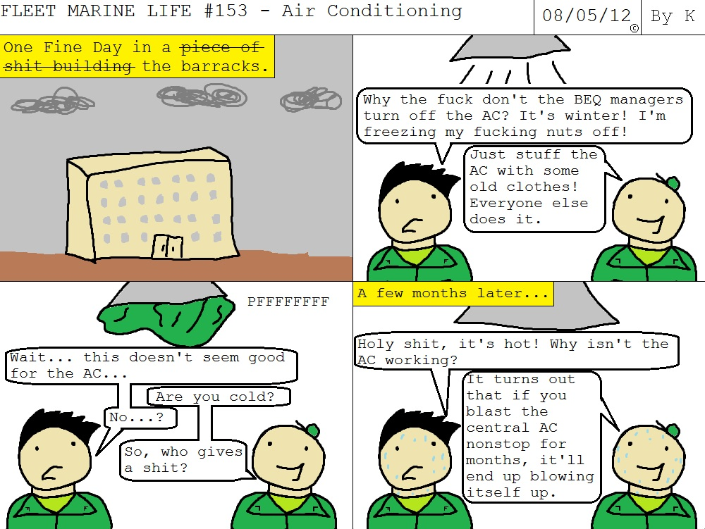 Fleet Marine Life #153 - Air Conditioning