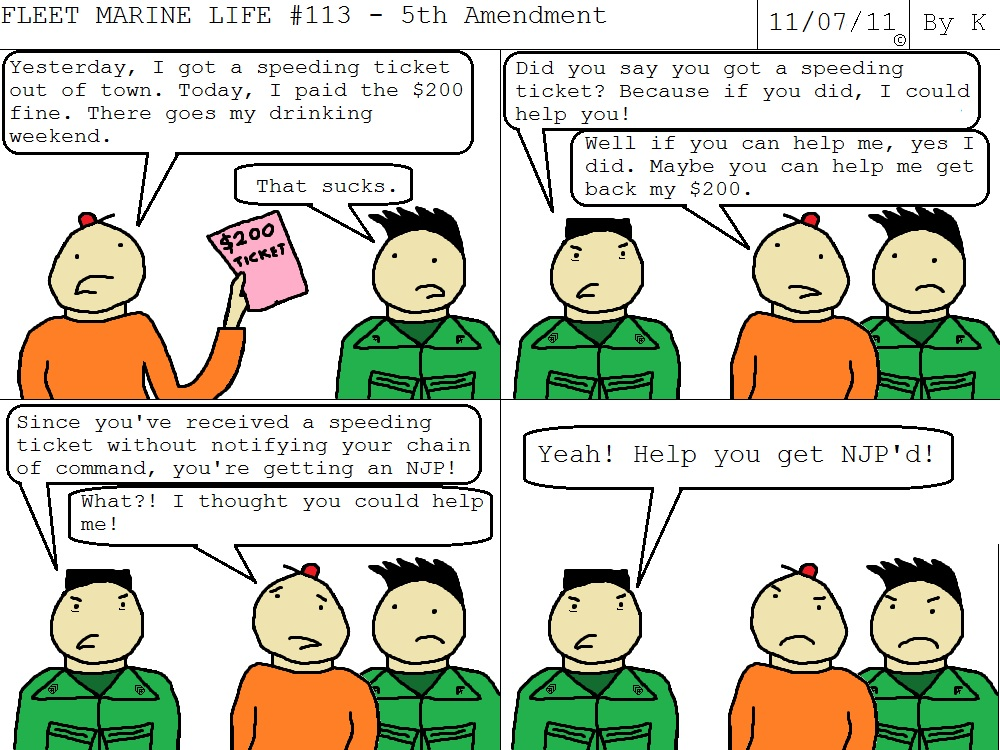 5th Amendment http   www fleetmarinelife com  comic fleet-marine-life    Fifth Amendment Double Jeopardy