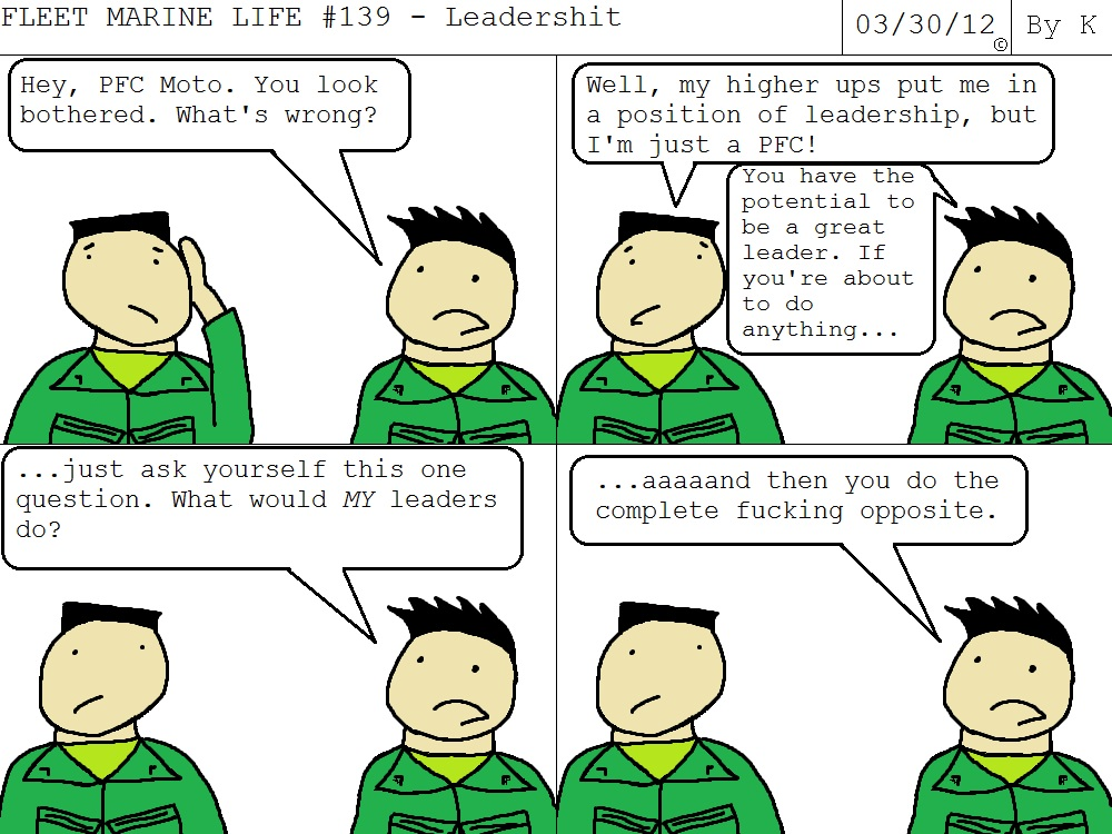 Fleet Marine Life #139 – Leadershit – Fleet Marine Life